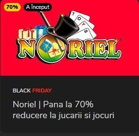 Promotii pentru copii pana la 70% Black Friday